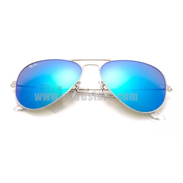 Cheap Replica Ray Ban RB 3025 58-14 Aviator Blue Sale 85 Off