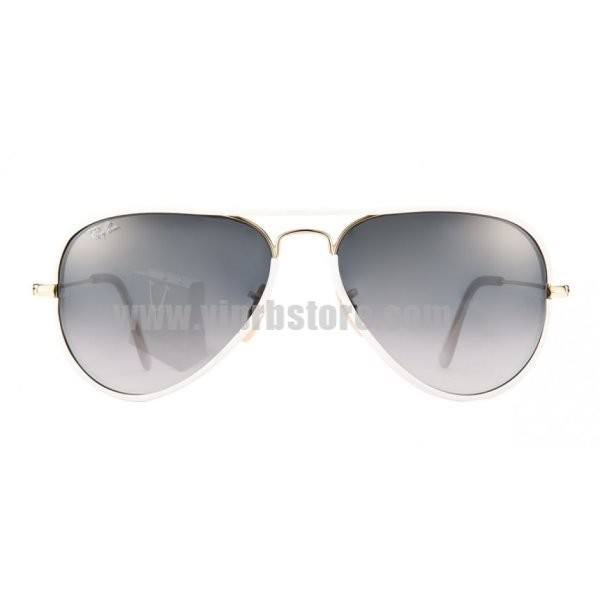 44179a7abba Cheap Copy Ray Ban RB 3025 58-14 Aviator Full Color White Sale 85 Off