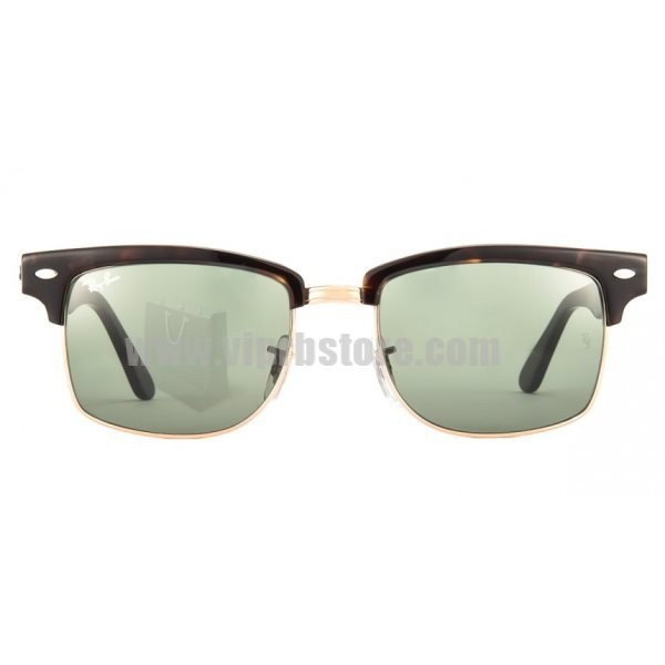 96481ef811 Cheap Knockoff Ray Ban RB 4190 52-19 Clubmaster Square Lens Green Sale 90  Off