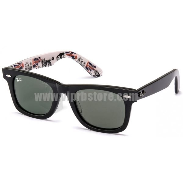 wayfarer replica  Cheap Replica Ray Ban RB2140 50-22 Original Wayfarer Rare Prints ...