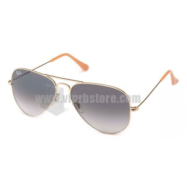 fake ray bans for sale  Cheap Fake Ray Ban RB 3025 58-14 Aviator Gradient Champagne Sale ...