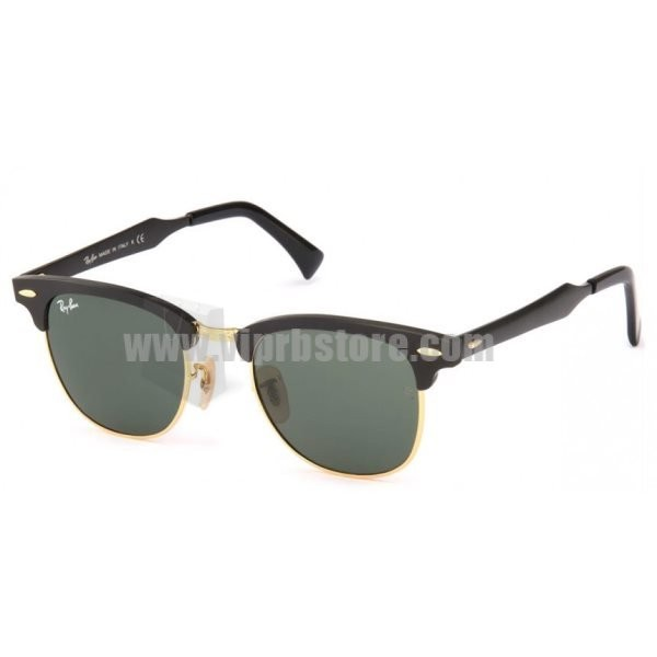 ray ban copy  Cheap Copy Ray Ban RB 3507 51-21 Clubmaster Aluminum Black Sale 85 Off
