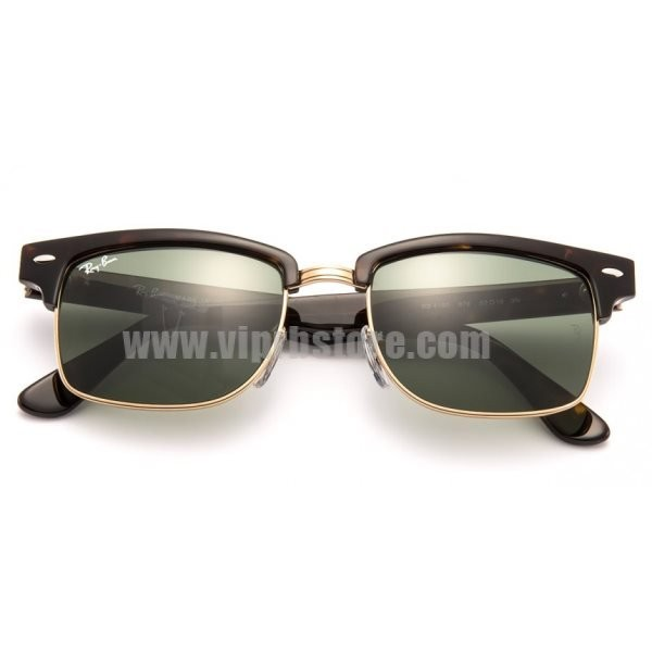 6b06c8d9d0 Cheap Knockoff Ray Ban RB 4190 52-19 Clubmaster Square Lens Green ...